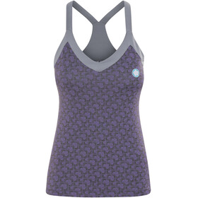 E9 Sandy Mouwloos Shirt Dames violet